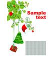 brunch xmas vector image vector image