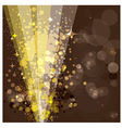 Festive background luminous rays vector image vector image