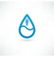 Fish eco Icon vector image vector image