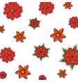 flower symbol background vector image vector image