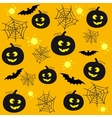 hallowen back 2 vector image