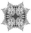 round decorative ornament element vector image