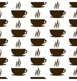 seamless of cup vector image vector image