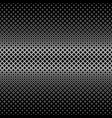 symmetrical abstract halftone square pattern vector image vector image