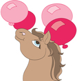 Birthday Baloons vector image vector image