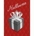 gift for halloween Background bones and skull vector image vector image