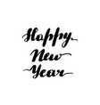 lettering inscription happy new year vector image