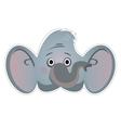 Mask elephant vector image vector image