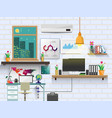 office design modern vector image vector image