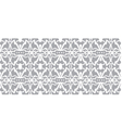 seamless wallpaper Monochrome abstract pattern vector image