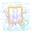 an octopus vector image