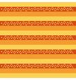 native tribal ethnic antique culture retro pattern vector image