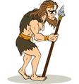 Ancient Man vector image