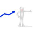 Increasing Graphs vector image vector image