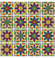 Mexican talavera ceramic tile pattern ethnic folk