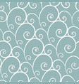 white lace seamless pattern with pearls vector image