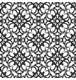 abstract minimalistic monochrome seamless pattern vector image vector image