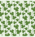 clover seamless pattern swatch for fabric vector image