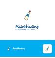creative celebration drink logo design flat color vector image