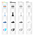 filler filter system and other web icon in vector image vector image