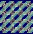 gold circle seamless pattern golden circle on vector image vector image