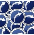 Sticker traffic symbols vector image