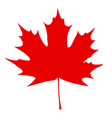 canadian flag vector image vector image