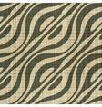 decorative wooden fiber textile print vector image vector image