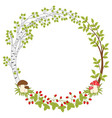 Forest Wreath vector image vector image