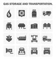 Gas icon vector image vector image