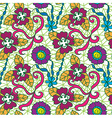 Seamless fresh pattern vector image