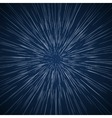 warp stars abstract background vector image vector image