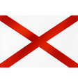 national flag northern ireland vector image