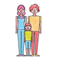 people characters cartoon vector image vector image