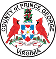 Prince Georges County Seal vector image vector image