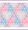 seamless pattern classical geometrical hexagon vector image vector image