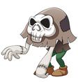 Skull monster vector image vector image