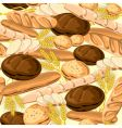 bread seamless vector image vector image