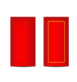 Chinese Ang Pao or Red Envelope vector image