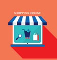 e commerce business concept online store vector image
