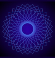flower of life sacred geometry abstract vector image
