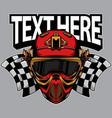 logo paintball team vector image