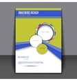 presentation of business poster vector image vector image