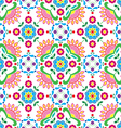 Seamless Norwegian traditional folk art pattern vector image vector image