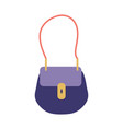 small woman handbag icon vector image