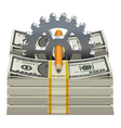Starting Capital Concept vector image vector image