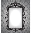 antique frame vintage background vector image