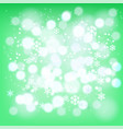 abstract background winter red snowflakes vector image vector image