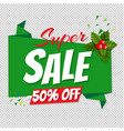 big sale poster transparent background vector image vector image