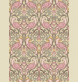 floral pastel pattern for wallpaper vector image